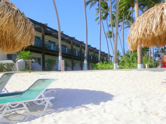 The divi is right on the white sand beach picture of divi aruba all inclusive oranjestad - Divi aruba all inclusive ...