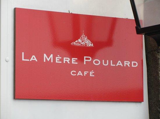 La Mère Poulard Café : Stay Away