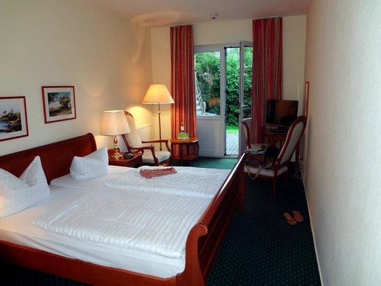 Seehotel Heidehof: Zimmer mit Terrasse