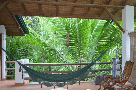 Atrapasueños Dreamcatcher Hotel: Upstairs patio area
