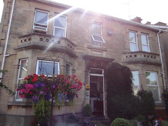 Milton House: outside - Jane Austin room to left