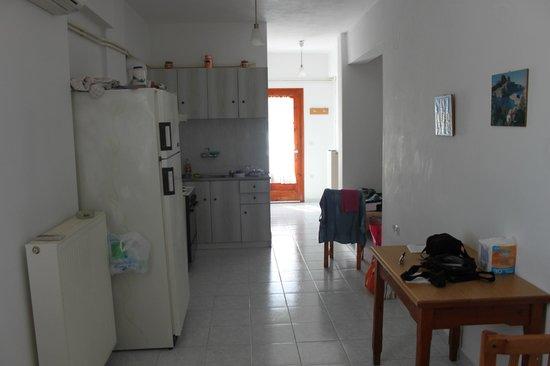 Kontaratos Houses Studios & Apartments : angolo cottura