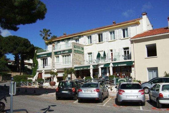 Hotel Richiardi : Frente do Hotel