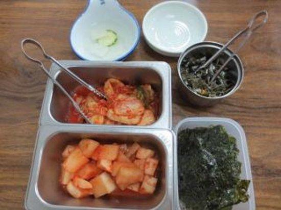 Jejuga: 副菜
