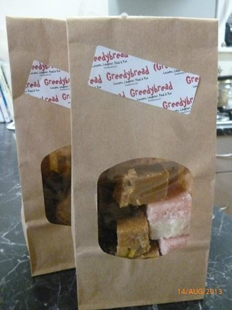 Greedybread: Take some samples home with you or make your own!!