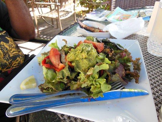 Island Plates: Fresh Avocadoe/Green Salad