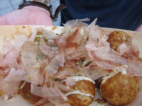 Wanaka, Sennichimae Honten : 中がとろとろで美味しいたこ焼き