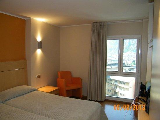 Hotel Espel: Nuestra habitación.
