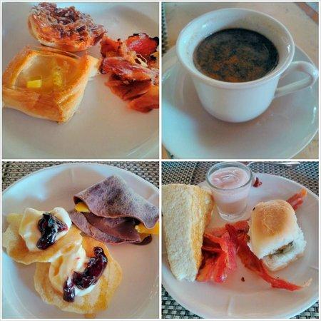 Bluewater Maribago Beach Resort: My breakfast plates