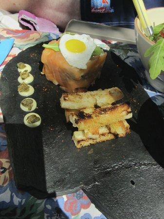 Villa Aurenjo : Lunch