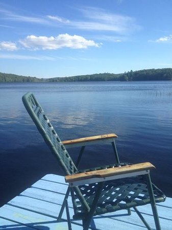 Orrington, ME: View from Victorian Jewel dock