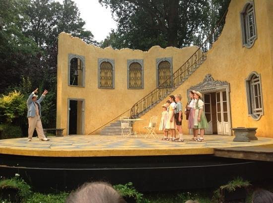 Open Air Theatre: Act 2 just started