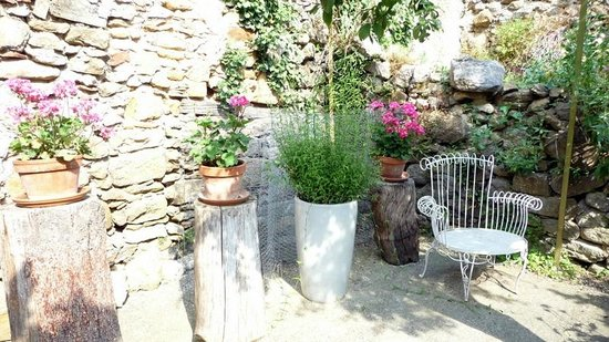 Le Presbytere : Le jardin pour rêvasser
