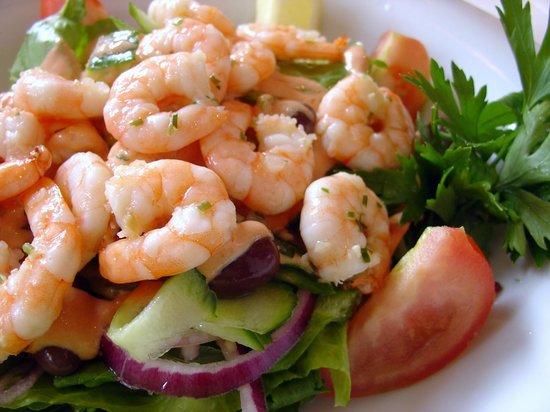 Cafe Optimisten : Shrimp Salad