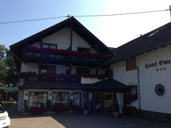 Hotel-Restaurant Ewerts: Main entrance