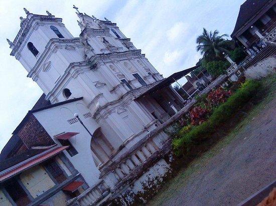 Fatima Guest House : church