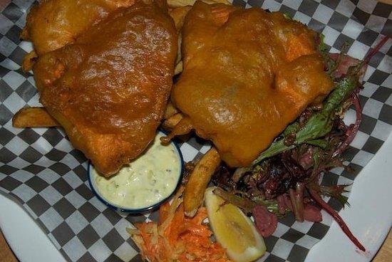 Coastal Kitchen: Deep-fried salmon in batter - standout