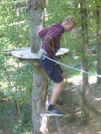 Parc En Ciel : great fun in the trees!