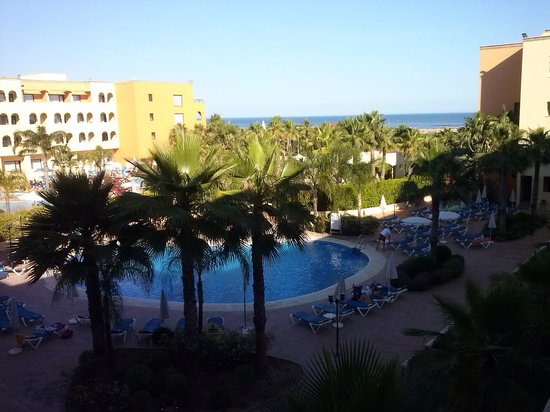 Apartamentos Playamarina: vista preciosa desde la terraza