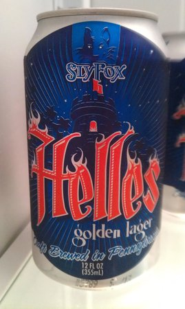 Sly Fox Brewhouse & Eatery : 360 lid can