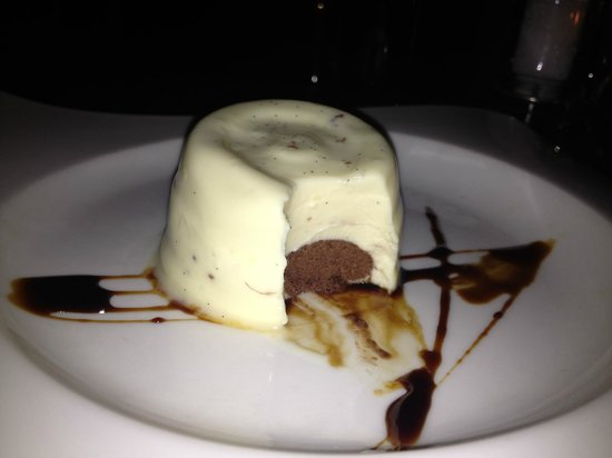 Zaza's: White Chocolate Panna Cotta