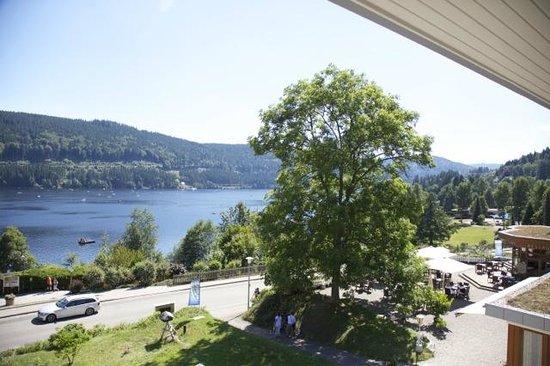 Brugger's Hotelpark am See: Vue depuis la chambre