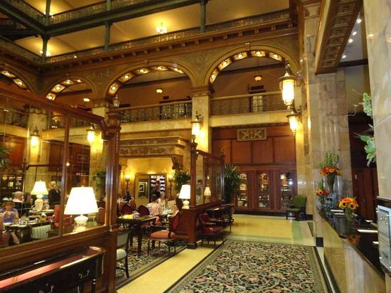 The Brown Palace Hotel And Spa Autograph Collection Lobby