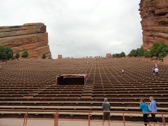 The Brown Palace Hotel And Spa Autograph Collection Red Rock Amphitheater From Stage