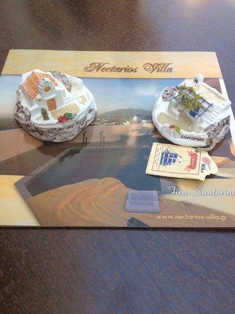 Nectarios Villa: Cadeaux