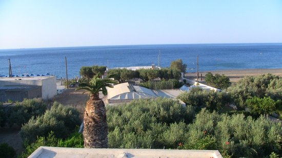 Coriva Beach Hotel: View from the room