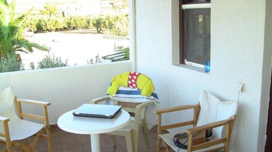 Coriva Beach Hotel: Room Veranda