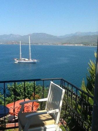 إسي بوتيك هوتل: View from balcony of Bul Bul room
