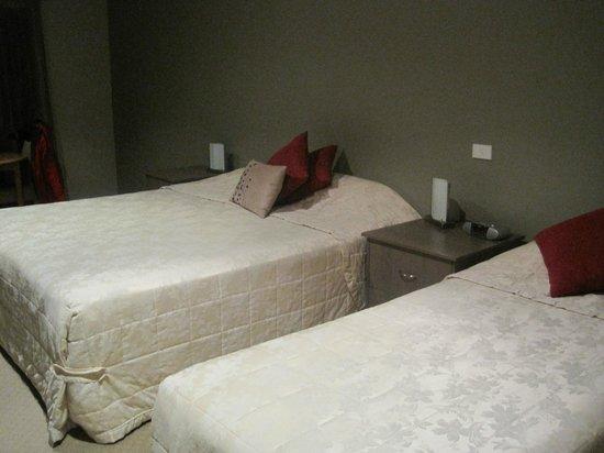 Aurora Ozone Hotel: i letti