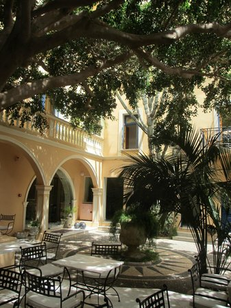 Casa Delfino Hotel & Spa: The courtyard