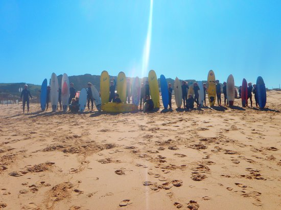 Estremadura, Portogallo: Hooked surf school