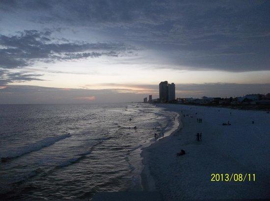 Beachbreak By The Sea: view on beach