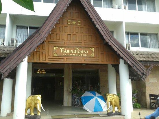 Iyara Hotel: utsidan