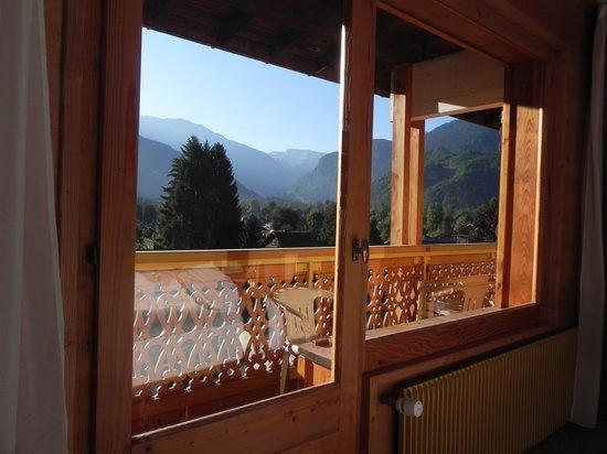 Hotel Neige Et Roc : Vue, le matin