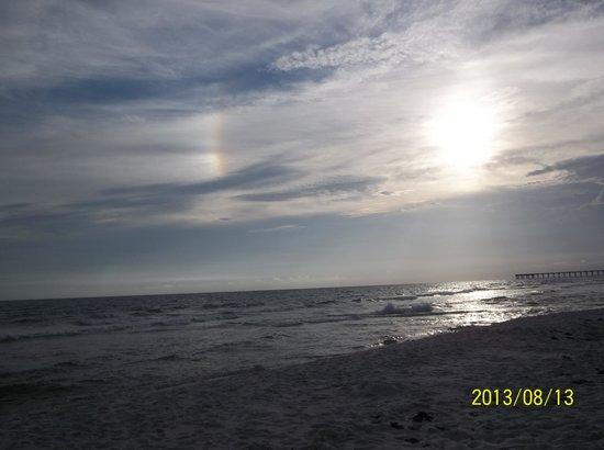 Beachbreak By The Sea: rainbow