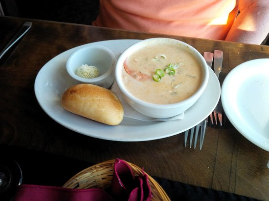The Galley Restaurant & Lounge: Lobster Chowder