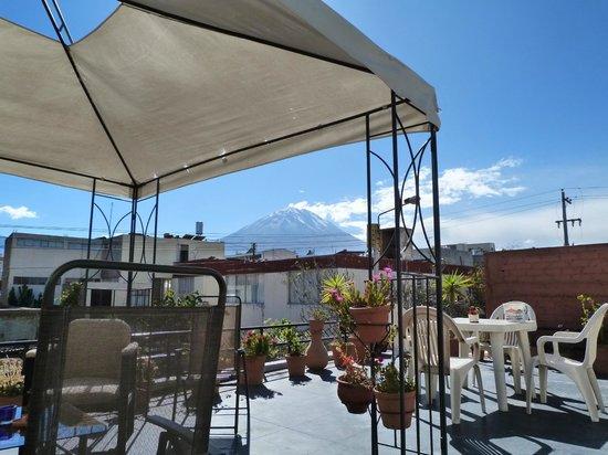 La Casa de Ana-Peru : La terrasse