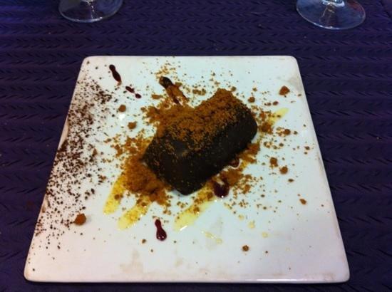 Fleur de Sel : croquant de chocolat... très bon !