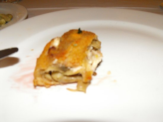 San Marco : Fried eggplant and mushroom appetizer!  Delicious!
