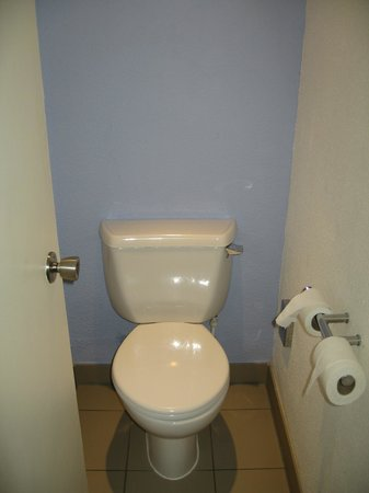 Novotel Birmingham Airport: Separate toilet cubicle