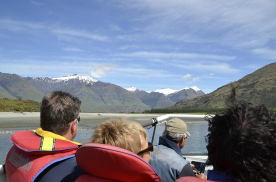 Wanaka River Journeys: View from the backseat!