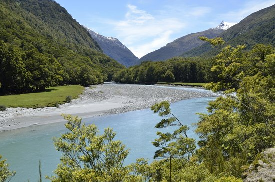 Wanaka River Journeys: Our further point upstream.