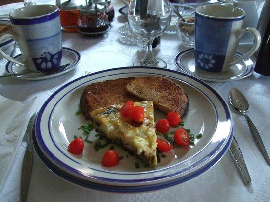 40 Bay Street Bed & Breakfast : 5-star breakfast