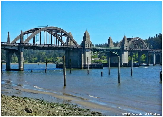 Florence, OR: Suislaw River Bridge June 2013