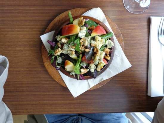 No. 5 BISTRO: nice salad but needs a bigger plate
