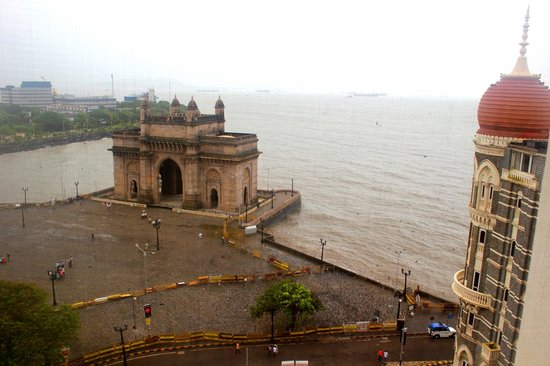 The Taj Mahal Palace: view from room - 8th floow sea view